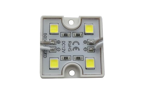 Светильник светодиодный 15 Вт, цвет серебро, IP54